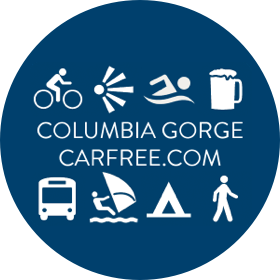 Columbia Gorge Car-Free Logo